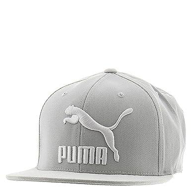 Puma de los Hombres Suede Gorra, Gris: Amazon.es: Deportes y aire ...