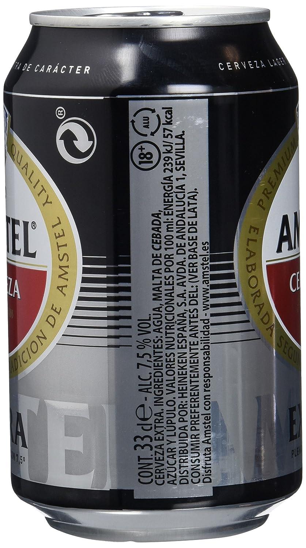 Amstel Extra Cerveza - Caja de 24 Latas 330 ml - Total: 7.92 L: Amazon.es: Amazon Pantry
