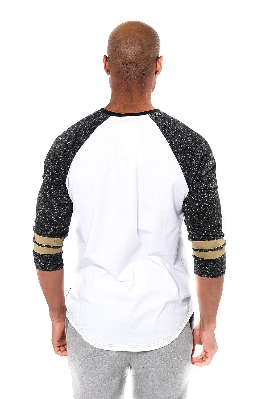 c42964f7 Ultra Game NFL New Orleans Saints Men's T Raglan Baseball 3/4 Long Sleeve  Tee Shirt, White, X-Large