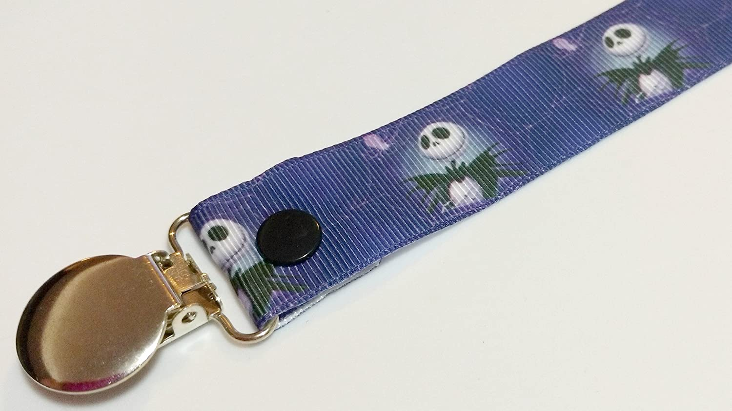 Nightmare Before Christmas Pacifier clip binky soother strap