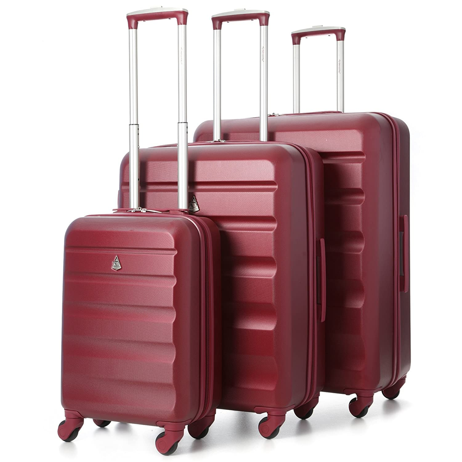 stock clearance hard shell travel luggage suitcase 4 wheel. Black Bedroom Furniture Sets. Home Design Ideas