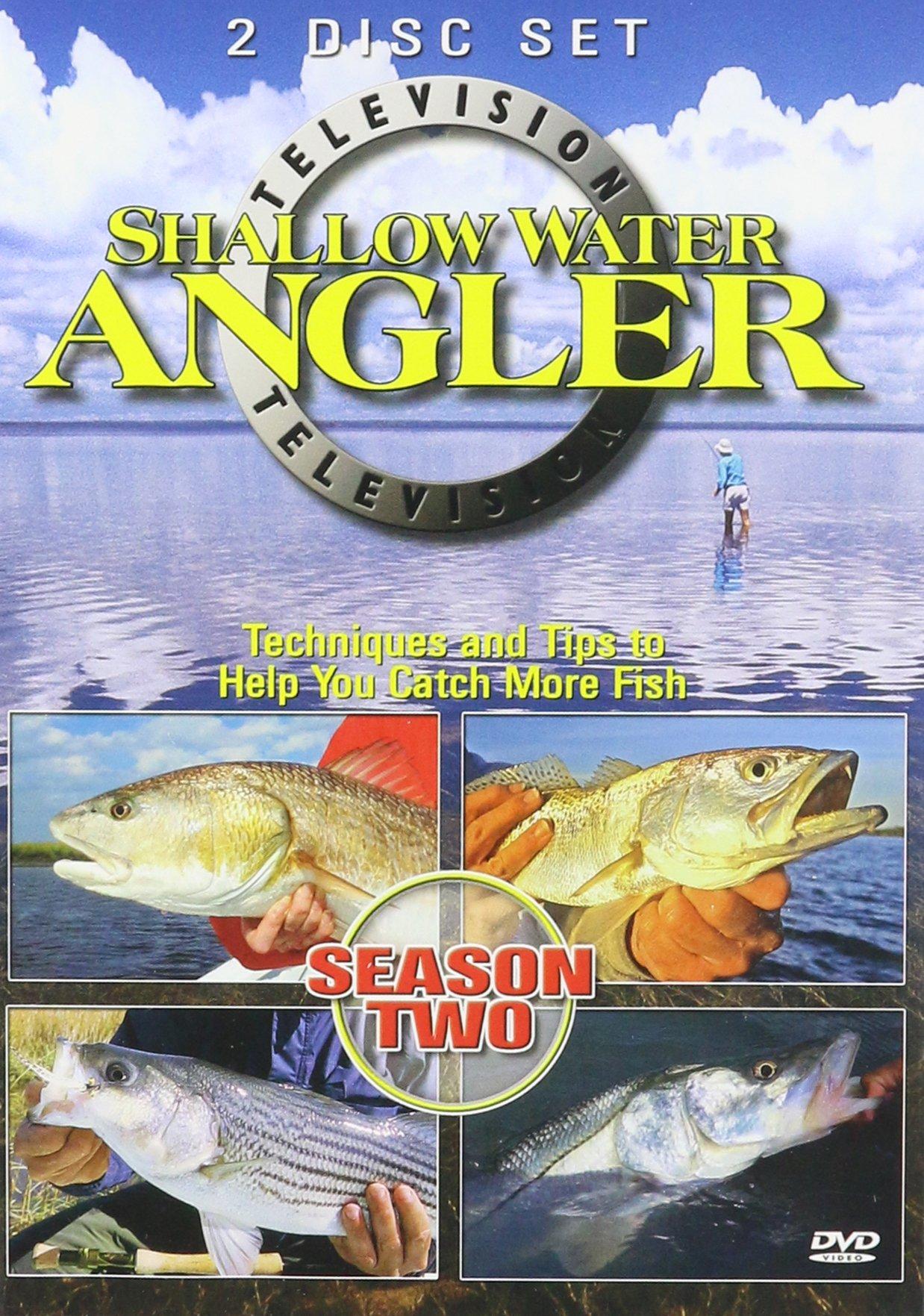 Shallow Water Angler TV Season 2 (2006) 2 DVD Set by Florida Sportsman