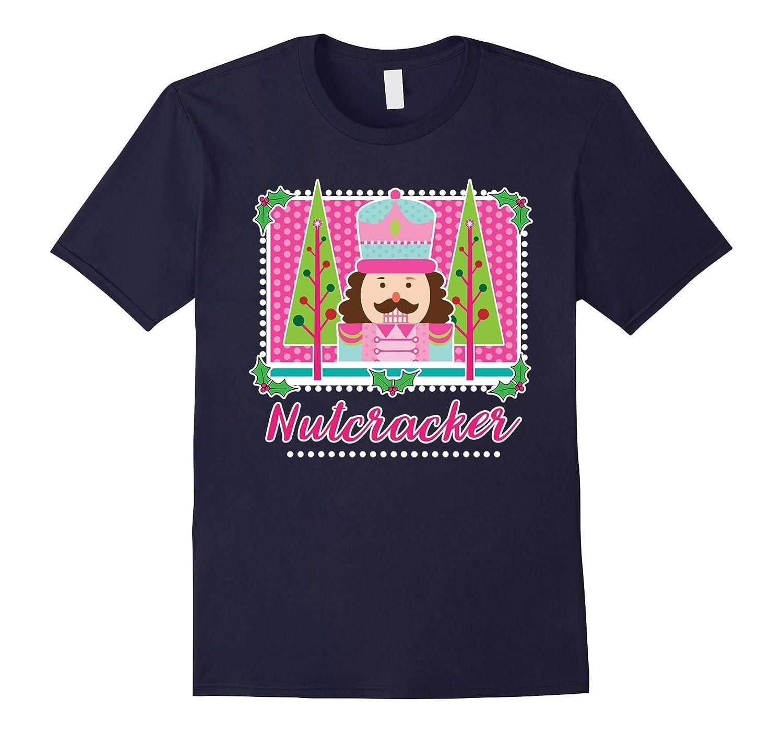 Cute Girls Christmas Ballerina Nutcracker Ballet T-Shirt-RT