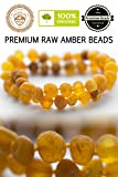 RAW Baltic Amber Teething Necklace for Babies