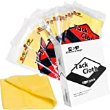 S&F STEAD & FAST 15-Pack Painters Tack Cloth for Painting, Professional Sticky Tack Cloth for Woodworking, Automotive, Metal,