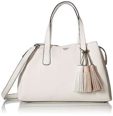 179072dc04 Guess Bags Hobo, Sacs bandoulière femme, Blanc (White), 14.5x24x36.5 ...