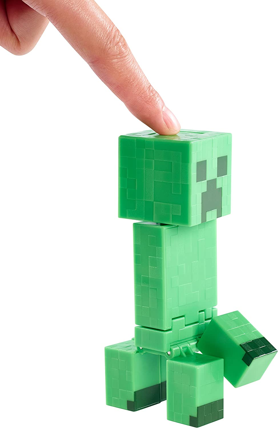 Amazon minecraft exploding creeper 5 figure toys games voltagebd Image collections