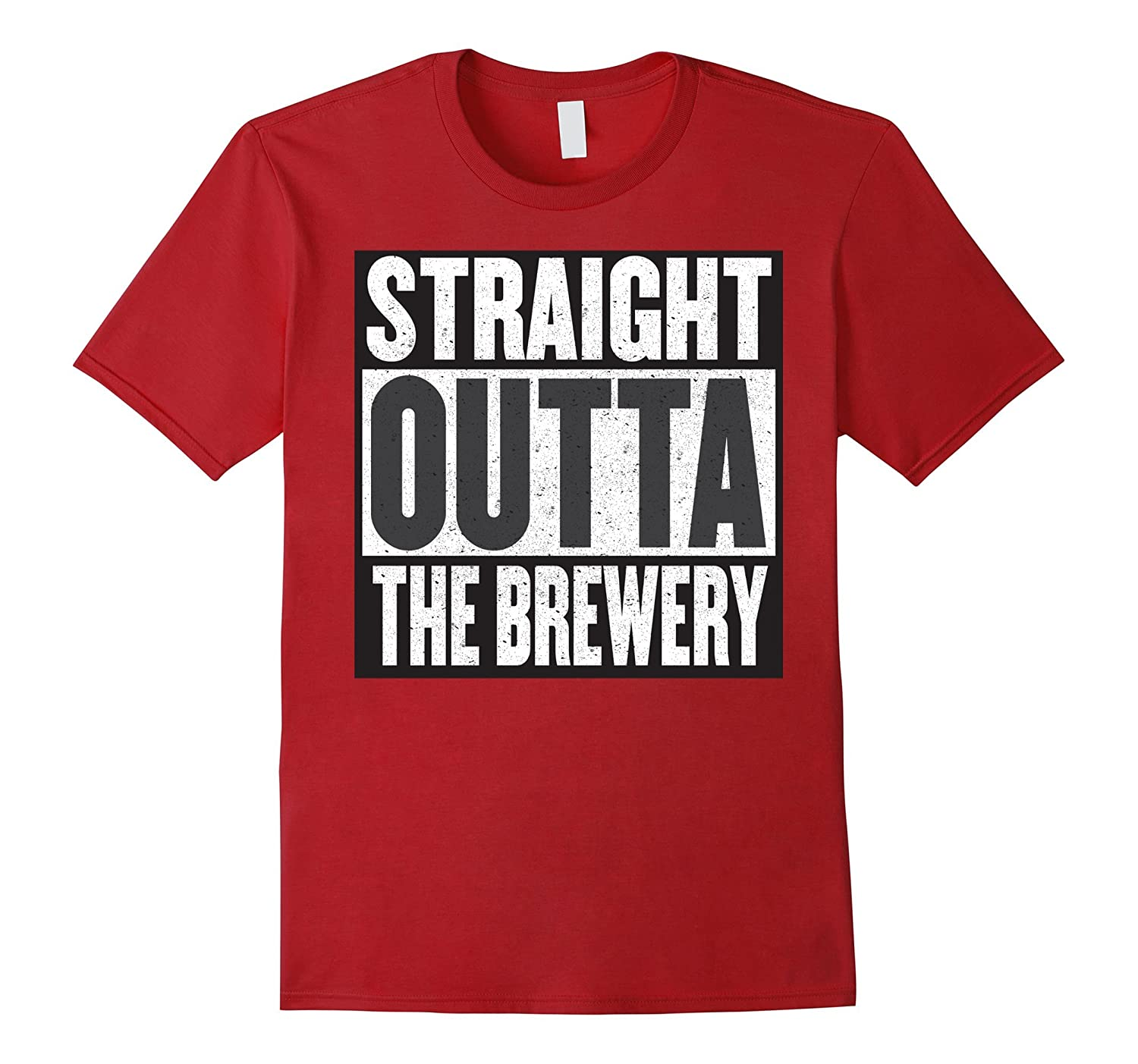 """""""Straight outta the brewery"""" most awesome craft beer t-shirt"""
