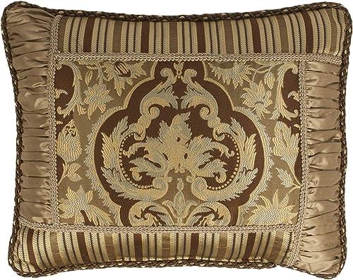 Austin Horn Classics Botticelli Brown Luxury Boudoir Pillow