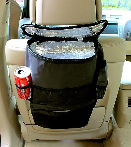 INION® Set 1 x coche ISO compartimento bolsa nevera bw183 – Respaldo auto Bolsa Utensilios