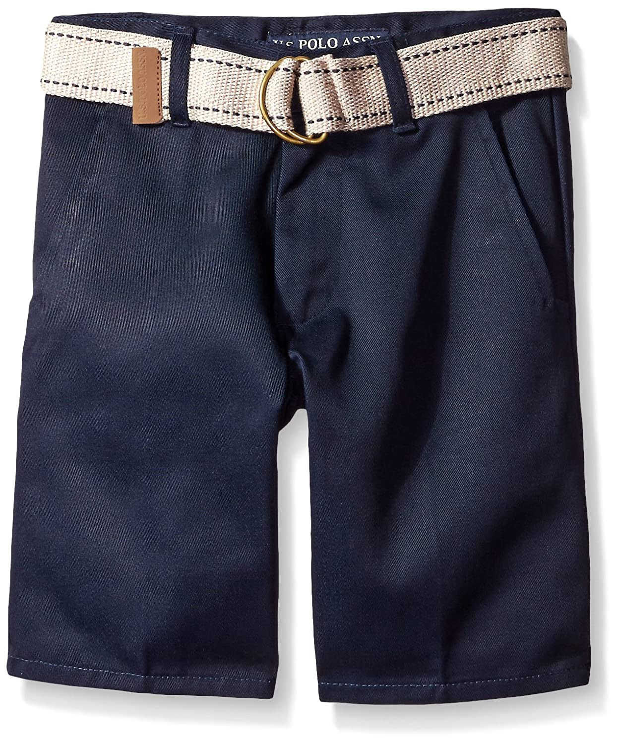 U.S. Polo Assn. Big Boys' Twill Short (More Styles Available)