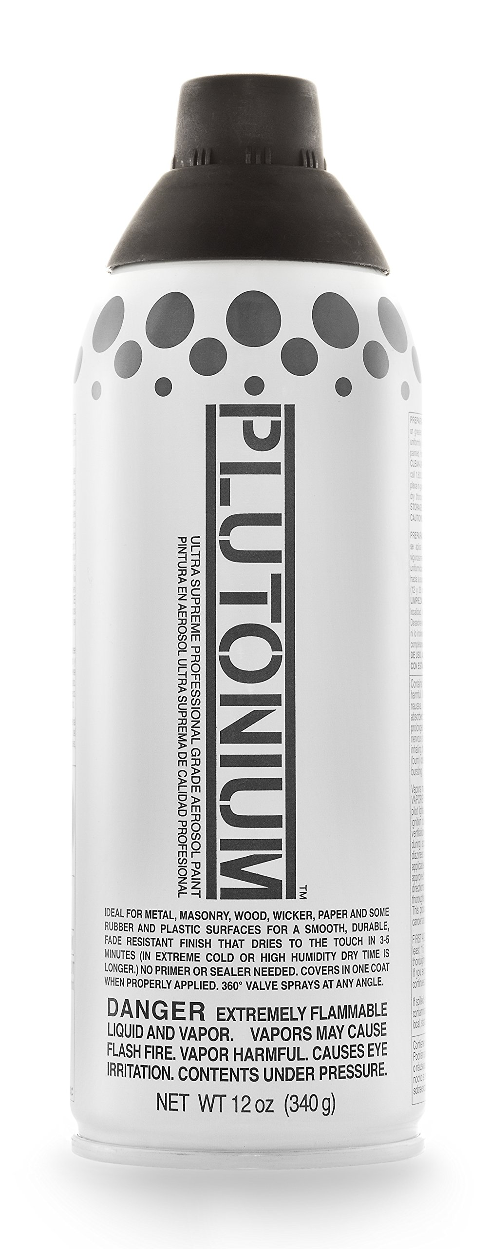 Plutonium Paint Ultra Supreme Professional Aerosol Paint, 12-Ounce, Deep Space