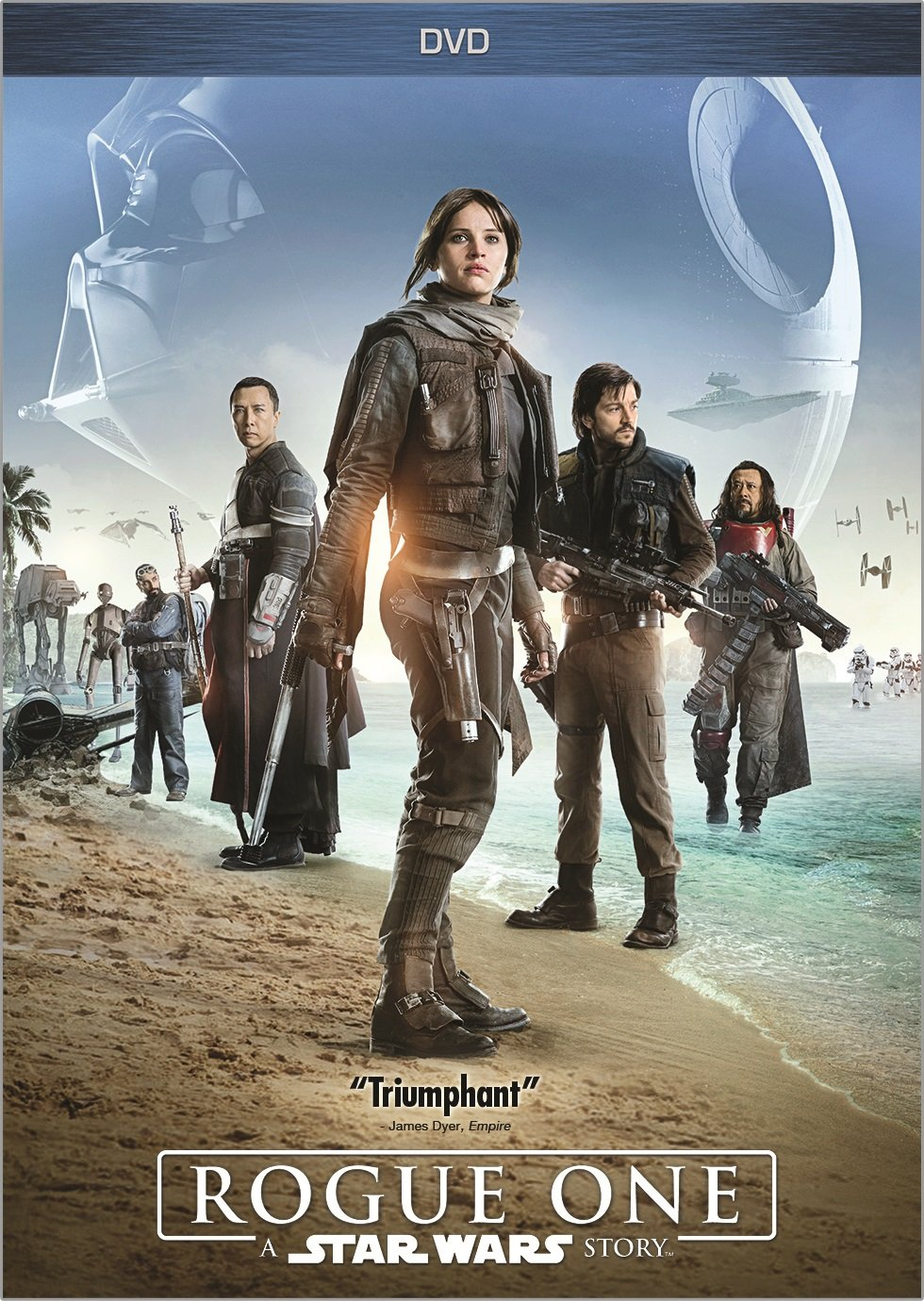 Rogue One: A Star Wars Story (Bilingual) Donnie Yen Felicity Jones Diego Luna Ben Mendelsohn
