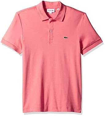 b0b9a044 Lacoste Men's S/S Pima Jersey Polo Interlock Reg at Amazon Men's Clothing  store: