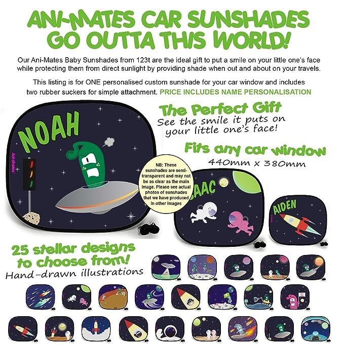 123t OUTTA THIS WORLD STAR GAZING PLAIN Baby//Child Vehicle Sunshade x 1