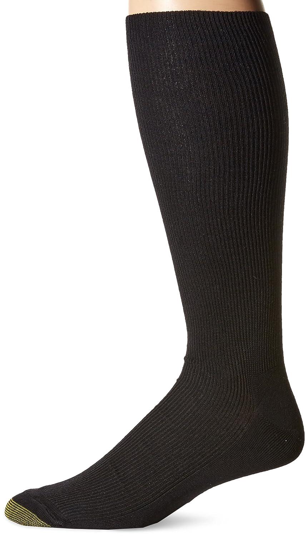 3 Pairs Gold Toe Mens Classic Canterbury Crew Socks