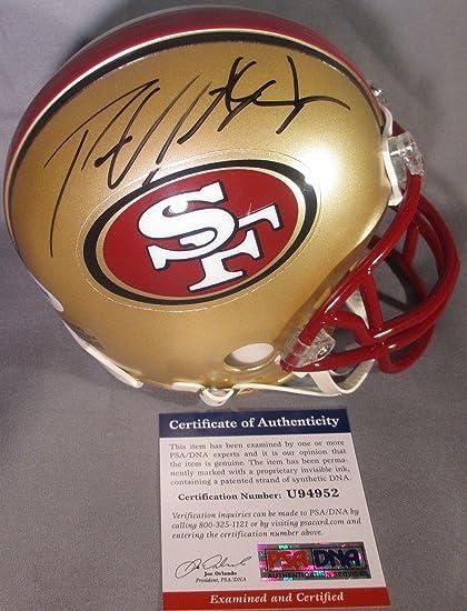 b6661c17229 Amazon.com  Autographed Patrick Willis Mini Helmet - BEAST!!! - PSA ...