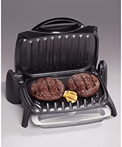 George Foreman GR7 2 Burger Indoor Grill