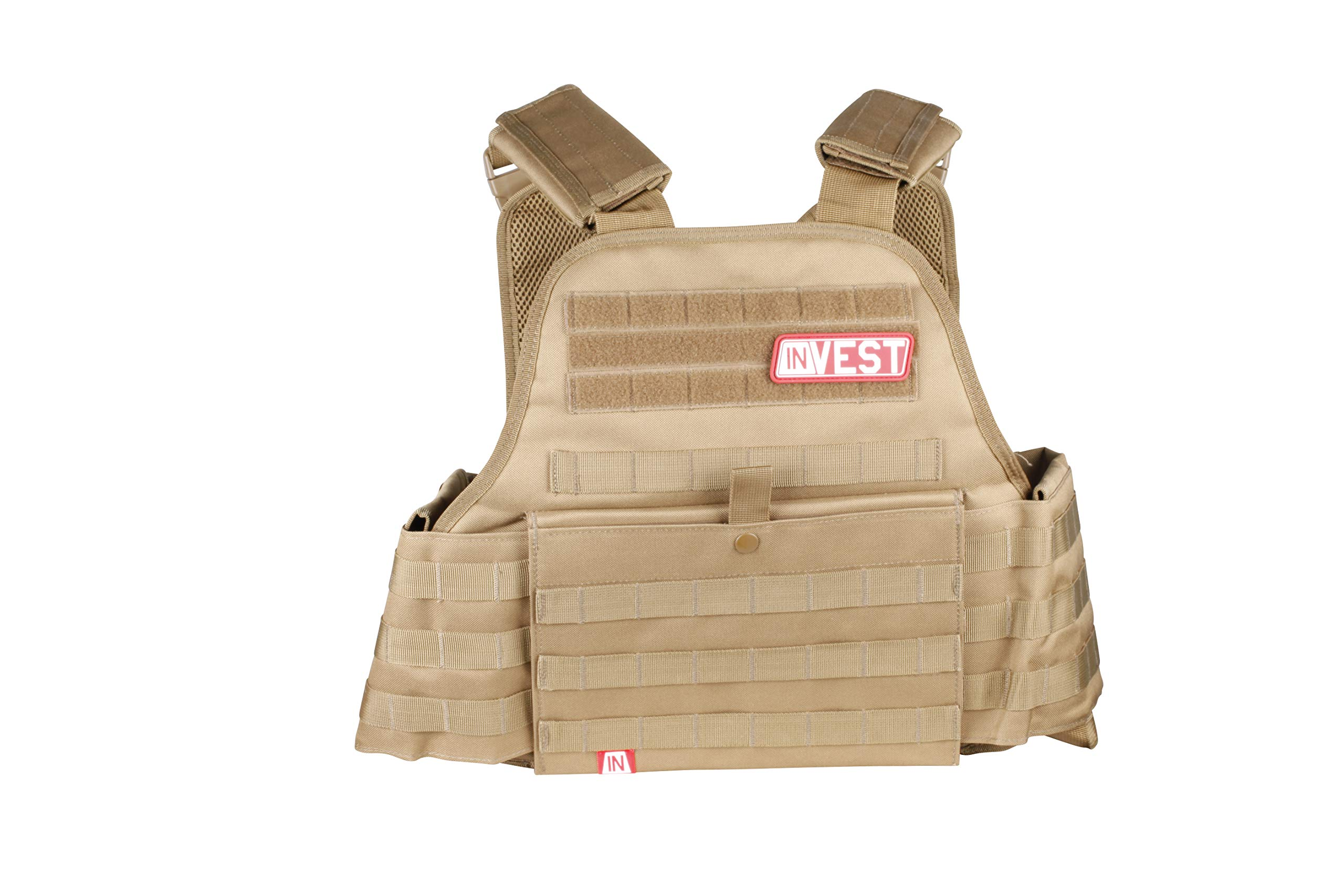 Invest Pro Weight Vest, 20 lbs. (Tan)
