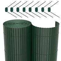 SONGMICS PVC-Sichtschutzmatten, Farbe und Größe auswählbar