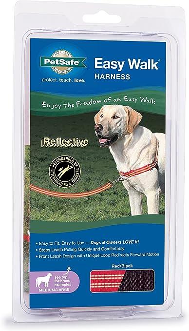 PetSafe//Premier Pet Easy Walk Harness Large Red//Black