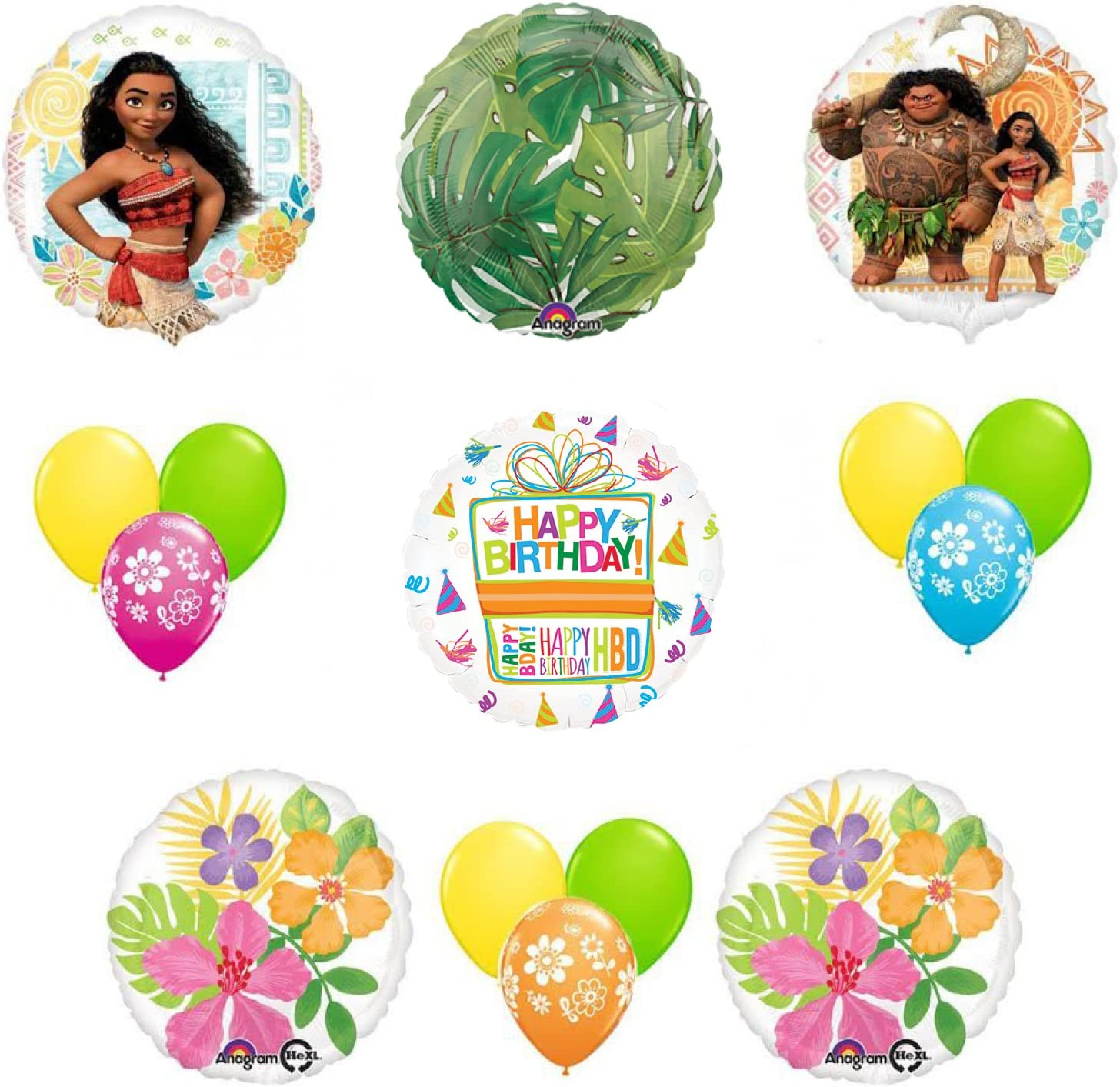 6ct Disney Tinkerbell Birthday Latex Balloons Party Supplies