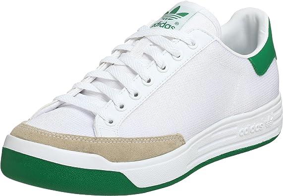 adidas Originals Rod Laver Tenis para Hombre, Blanco (Blanco, Verde (Running White/Green)), 48 EU: Amazon.es: Zapatos y complementos