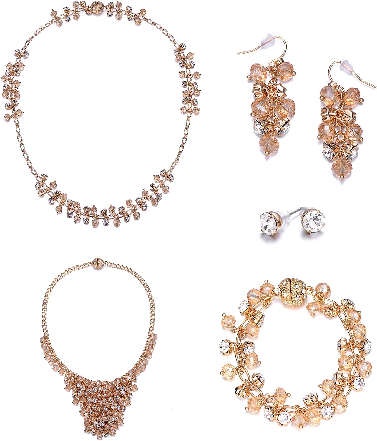 Tropez 5 Piece Gold with Magna Clasp Jewels to Jet St