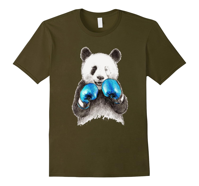 boxing panda t shirt panda is the winner of boxing cl colamaga