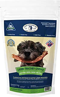 product image for Clear Conscience Pet Lamb Trachey Chewz 4-Pack, 2.8 Oz