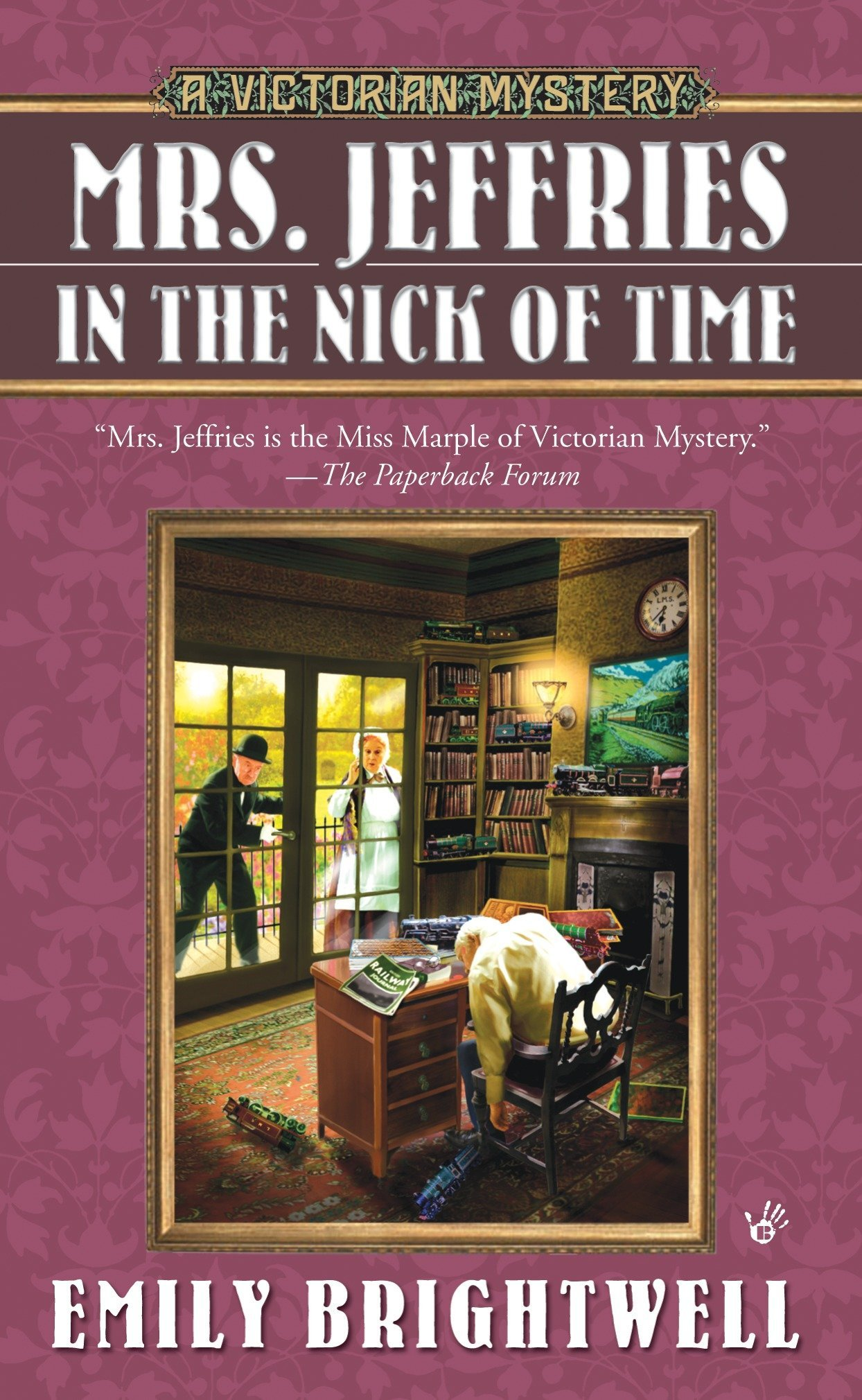 Download Mrs. Jeffries in the Nick of Time (A Victorian Mystery) pdf epub