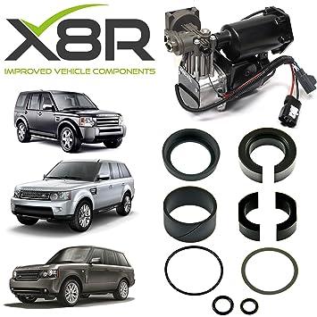 Land Rover Range Rover 2006 - 2009 Compresor De Aire Kit de reparación de juntas de pistón de repuesto parte: x8r27: Amazon.es: Coche y moto