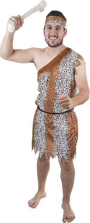 Costumizate! Disfraz de Cavernicola Adulto Especial para Fiestas ...