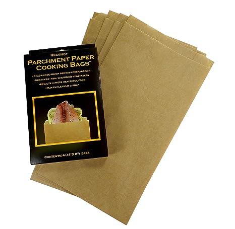 Amazon.com: Regency Wraps rw1142 Pergamino bolsas de cocción ...