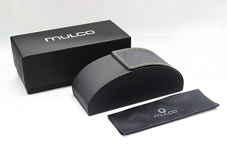 Blue Lens 48 mm Pilot Sunglasses Mulco Rope Pilot C034 Rouse Gold and Carey Frame