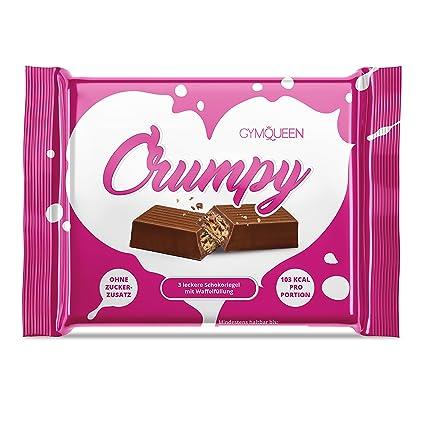 Gofres de chocolate GymQueen Crumpy, la seducción dulce y crujiente, con 86 % menos