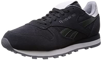 3a807a4e0a6a Reebok Men s Classic Leather Suede Low-Top Sneakers