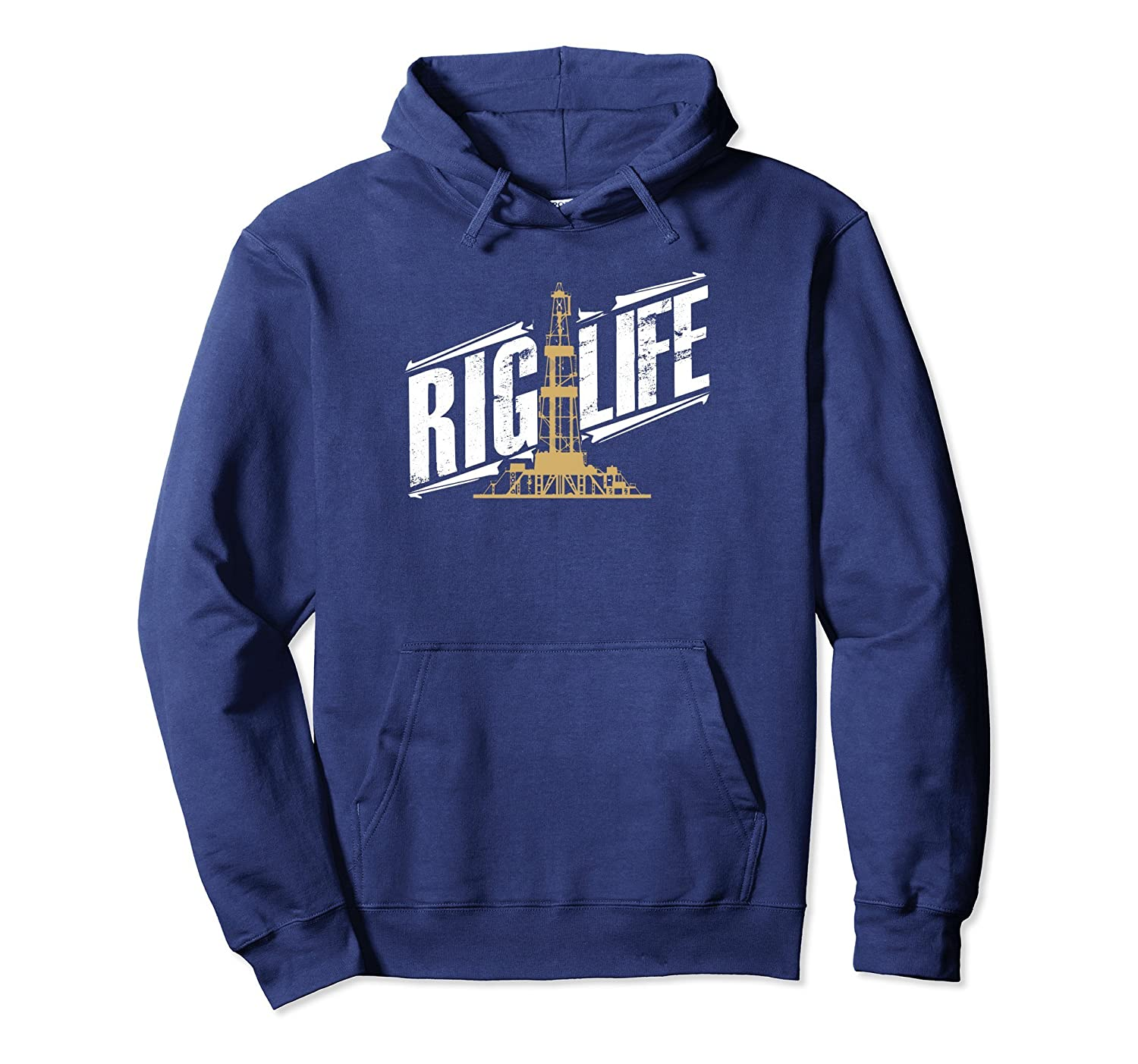 Rig Life Roughneck Oilfield Hoodie for Rig Hands-Bawle