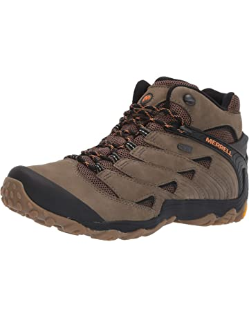 Merrell Mens Chameleon 7 Mid Waterproof Hiking Shoe