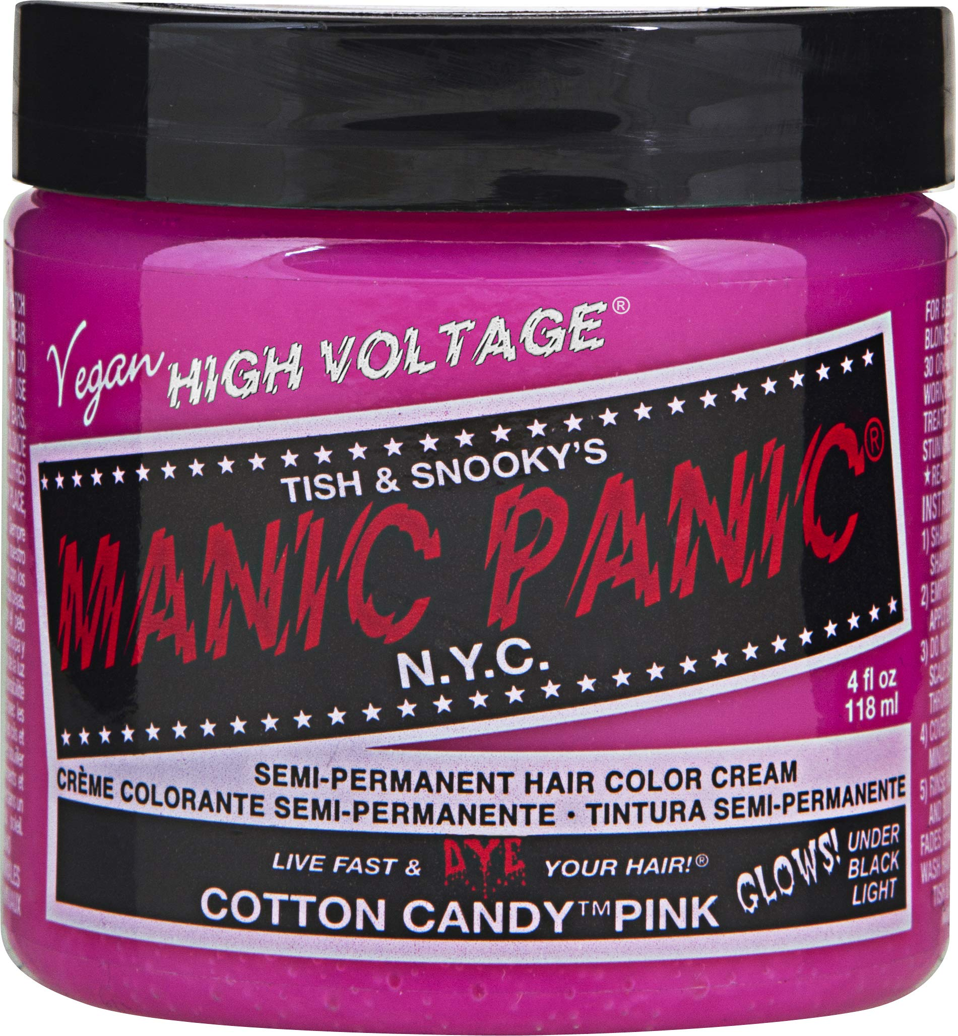 Manic Panic Cotton Candy Pink Classic Hot Pink Hair Colour Buy