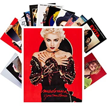 Postcard Set 24 cards MADONNA Posters Photos Vintage Magazine covers