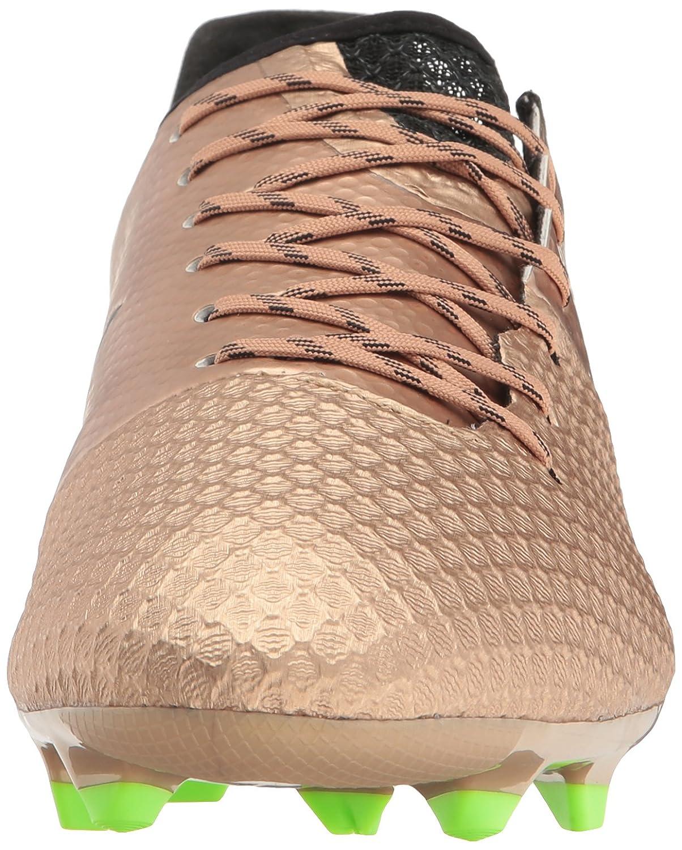 Adidas Originals Men's Messi 16.2 Firm Ground Cleats Soccer schuhe, schuhe, schuhe, Copper Metallic schwarz Solar Grün, (12 M US) fe8475