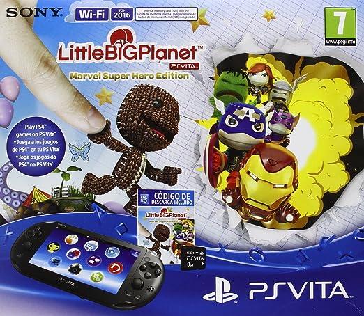 PlayStation Vita - Consola + LittleBigPlanet - Marvel ...