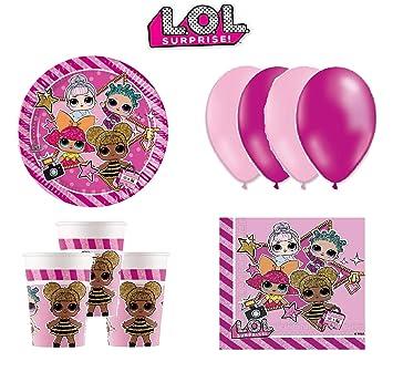 LOL Surprise Kit de cumpleaños 8 Personas