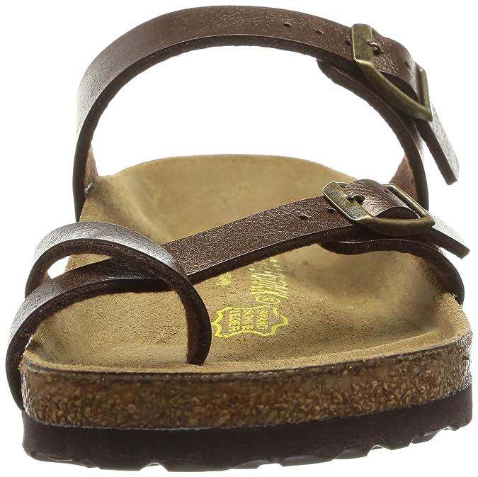 27d2e4afdef1 BIRKENSTOCK Damen Mayari Birko Flor Graceful Sandalen Bronze 43 EU   Amazon.de  Schuhe   Handtaschen