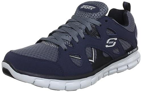 sale retailer 29420 43e21 Skechers Synergy Gridiron 51197, Sneaker Uomo, Blu (Blau (NVGY)),