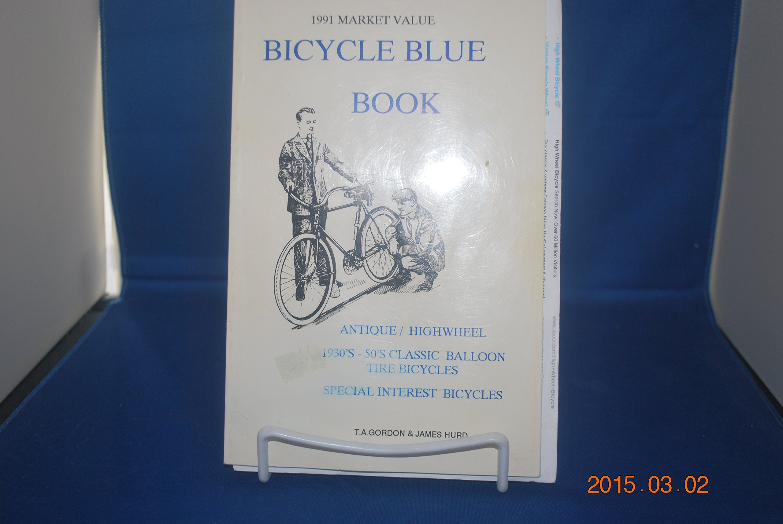 Bicycle Blue Book Antique Highwheel 1930 S 50 S Classic Balloon