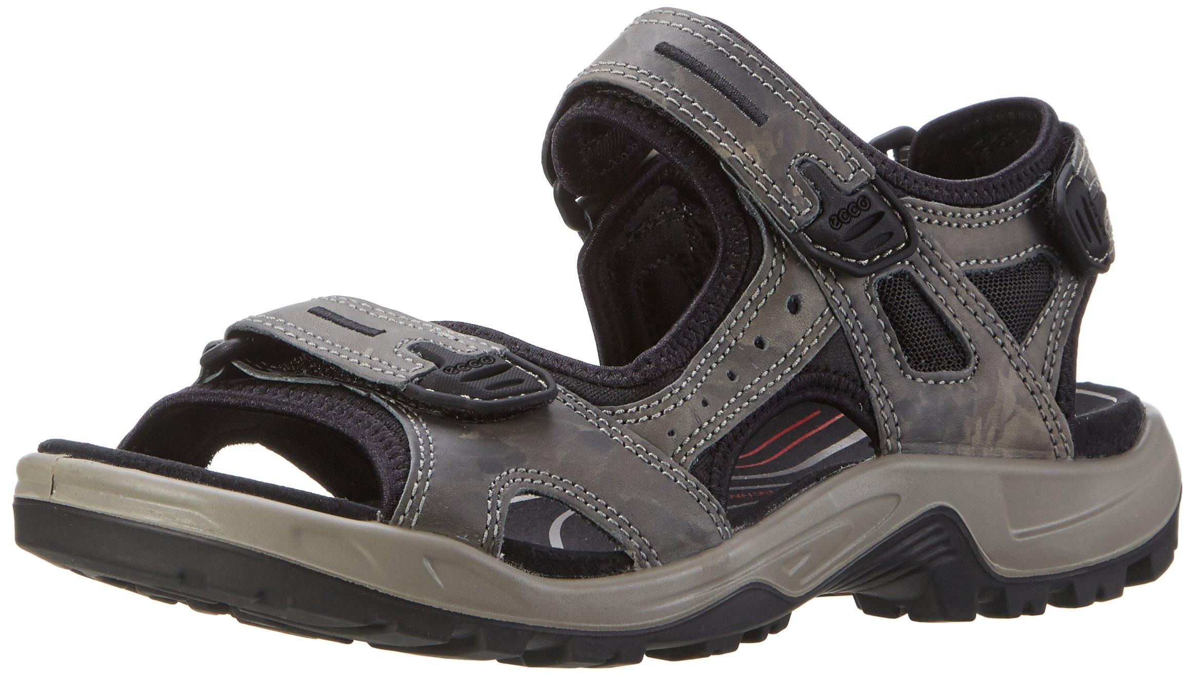 ECCO Men's Yucatan outdoor offroad hiking sandal, Tarmac, 46 EU (US Men's 12-12.5 M)