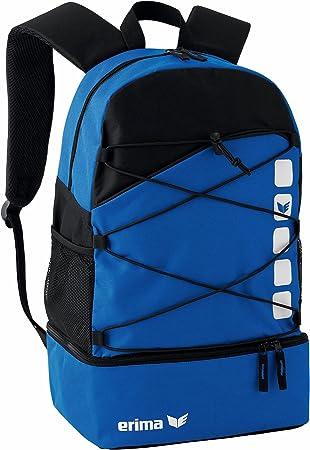 Erima GmbH 723340 Mochila Multifunción con Compartimento Inferior, Unisex, New Royal/Negro, 1: Amazon.es: Deportes y aire libre