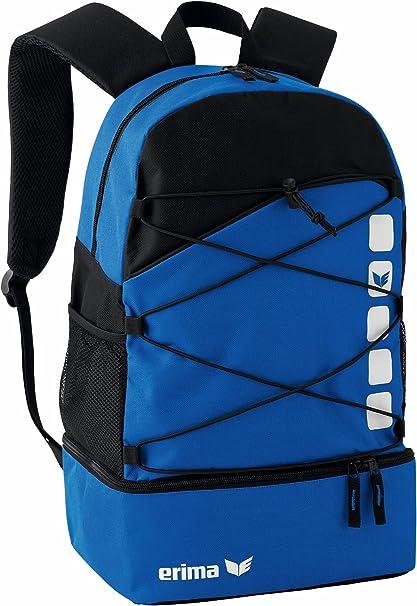 erima rucksack mit bodenfach schwarz